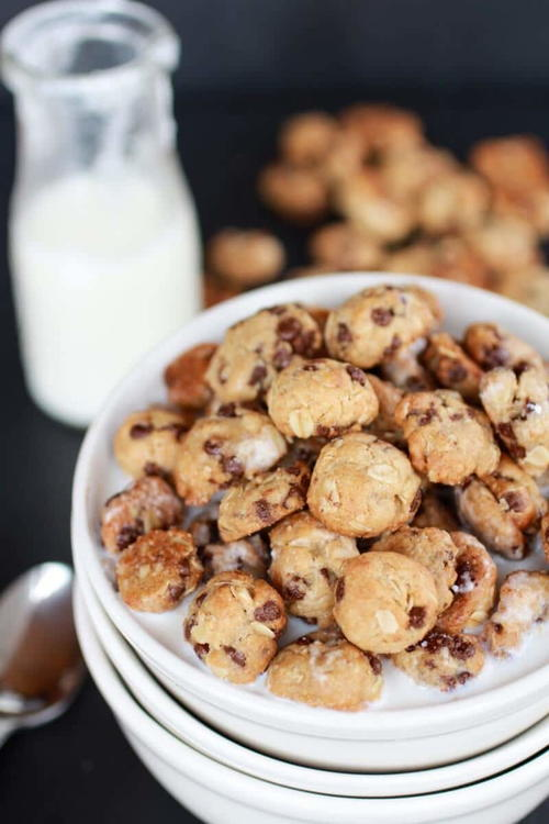 Cookie Crisp Oatmeal Cookie Copycat Cereal