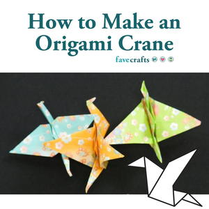 How to Make an Origami Crane (Video)