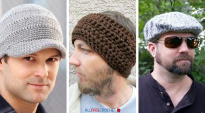 Crochet Mens Hats Allfreecrochetcom