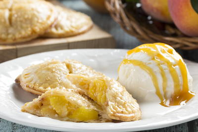 Fresh Peach Hand Pies