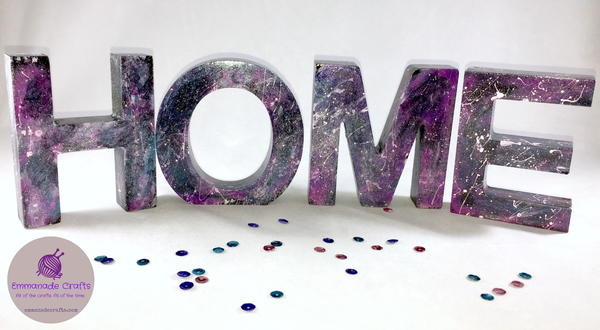 Glitter Paint Galaxy Home Decoration