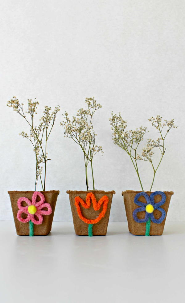 DIY Mini Flower Pots