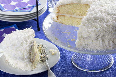 Elvis Coconut Cake