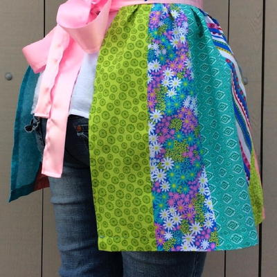Easy Patchwork Aprons