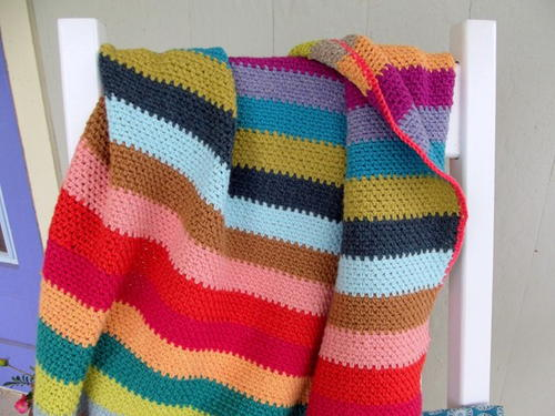 Beach Stripe Surf Blanket