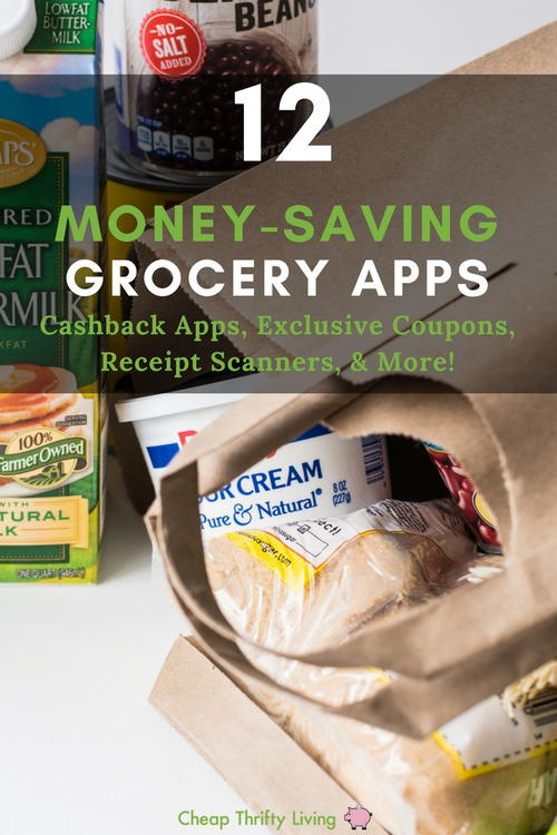 12 Money-Saving Grocery Apps
