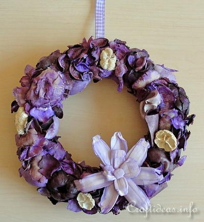 Summer Potpourri Wreath