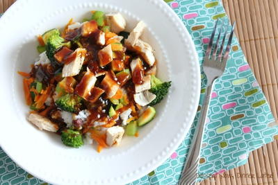 Copycat Rumbi Hawaiian Teriyaki Chicken Bowl