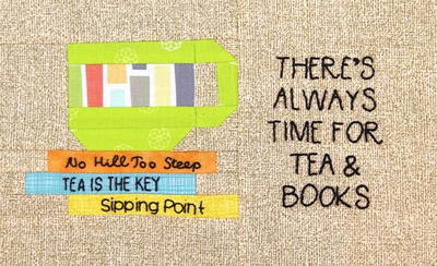 Tea and Books Mug Mat