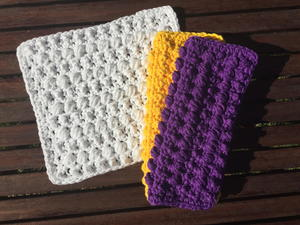 The Beaded Washcloth