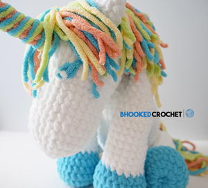Cuddles the Crochet Unicorn