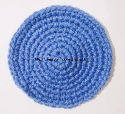 How To Make A Flat Single Crochet Circle Allfreecrochet Com