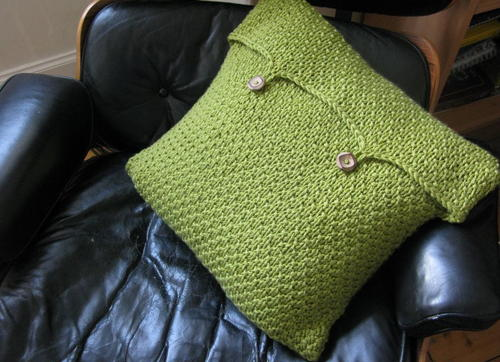 Moss Green Cushion Cover