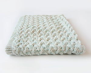Waterfall Baby Blanket