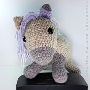 Free Pattern] Cute Ponies For Kids Who Love