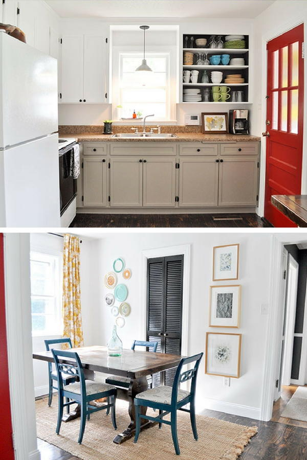 Kitchen and Dining Room Makeover