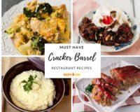 11 Must Have Cracker Barrel Restaurant Recipes