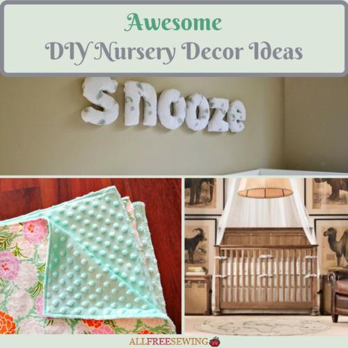 13 Awesome Diy Nursery Decor Ideas Allfreesewing Com
