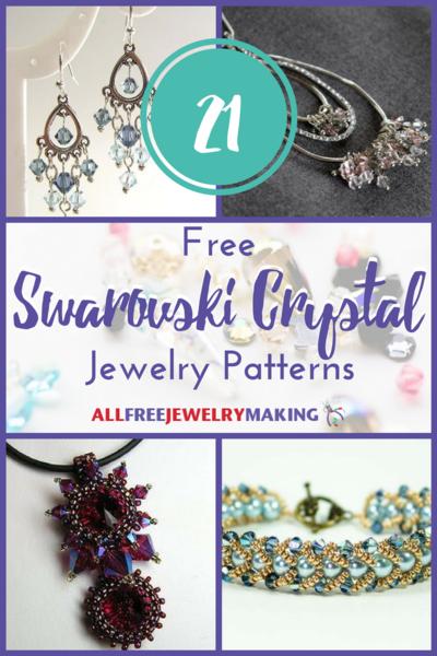 4c12df33fbd51 21 Free Swarovski Crystal Jewelry Patterns | AllFreeJewelryMaking.com