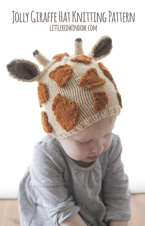 Jolly Giraffe Hat