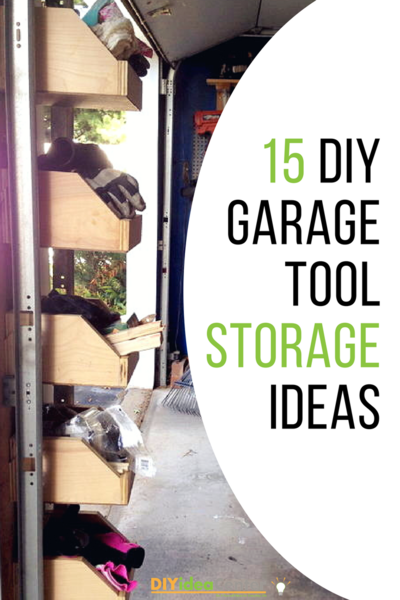 DIY Garage Tool Storage Ideas