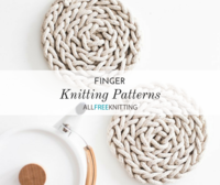 5 Finger Knitting Patterns