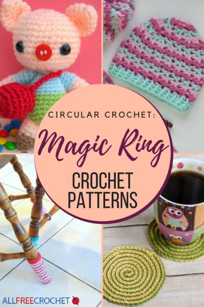 Circular Crochet 19 Magic Ring Crochet Patterns
