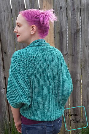 Tasha Tunisian Shrug