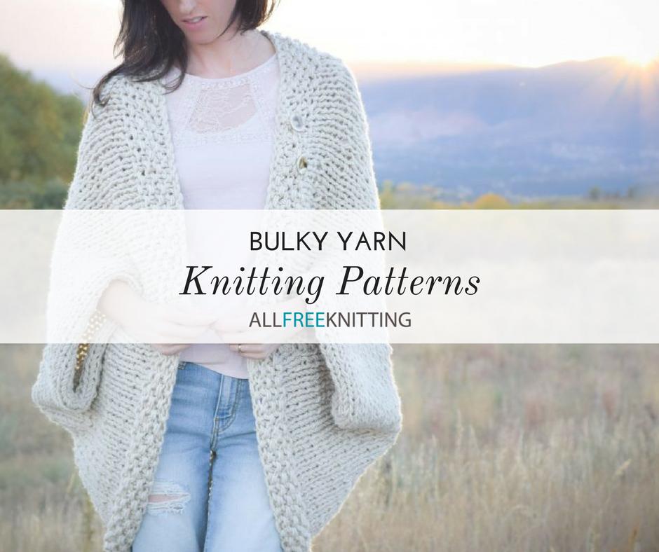 52 Bulky Yarn Knitting Patterns Allfreeknitting