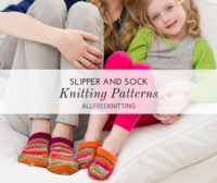 16 Slipper and Sock Knitting Patterns