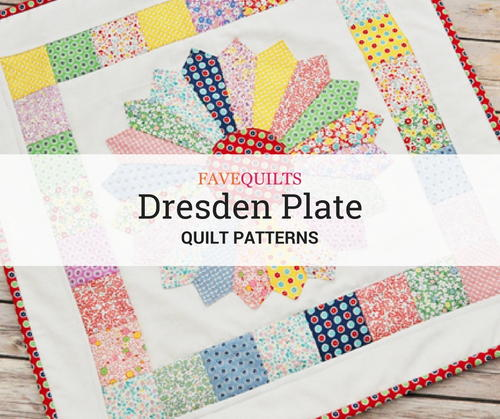 Dresden Bloom Quilt Pattern by Cozy Quilt Designs