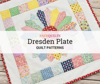 12 Dresden Plate Quilt Patterns