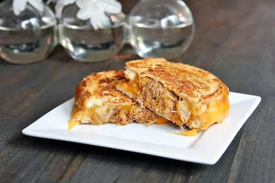 Copycat Pioneer Woman Pork Grilled Cheese Sandwich