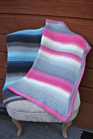 Aurora Skies Ribbed Baby Blanket