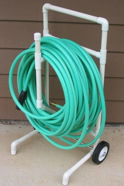 PVC Garden Hose Caddy