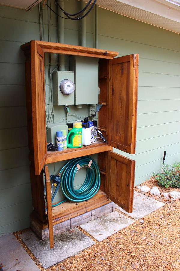 Armoire Outdoor Organizer