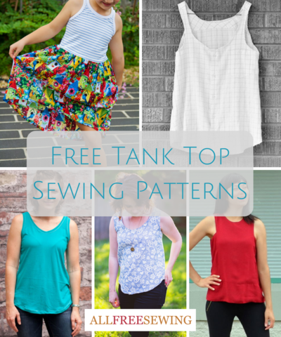 Cool for the Summer: 25 Free Tank Top Sewing Patterns