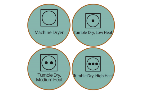 Machine Drying Symbols