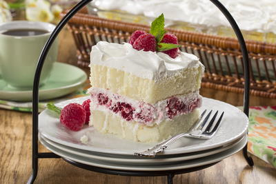 dessert recipes made with whipping cream 2-2-2-Spring-Fling-Layered-Cake.wmv