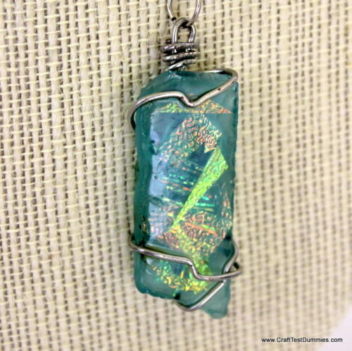 Magical Recycled Glass Pendant