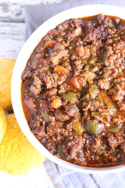 No Bean Chili