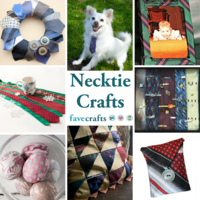 16 Necktie Crafts Ideas