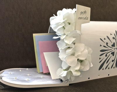 Glittery Wedding Gift Card Mailbox
