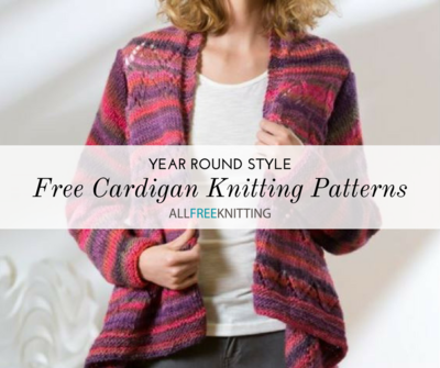 de35d82df584 Year Round Style  20 Free Cardigan Knitting Patterns for Every ...