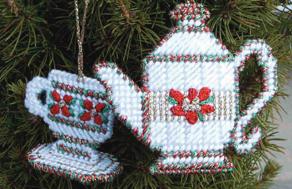 Christmas Tea Ornament Set