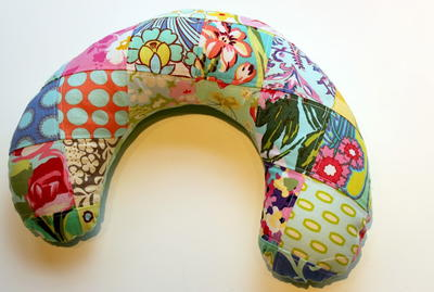 Patchwork Travel Neck Pillow