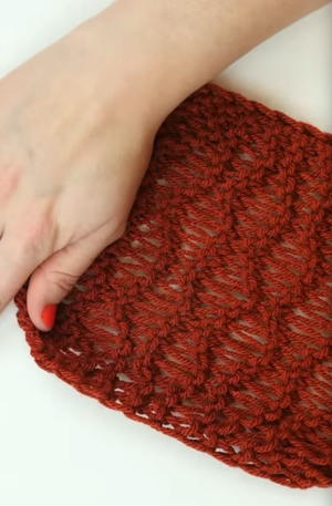 How to Knit the Wave Stitch