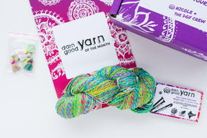 Darn Good Yarn Subscription Yarn of the Month Club Giveaway