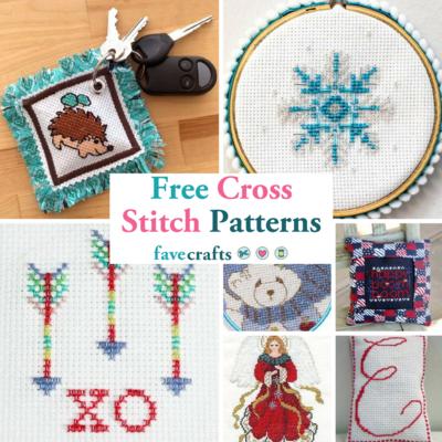 31 Free Cross Stitch Patterns | FaveCrafts com