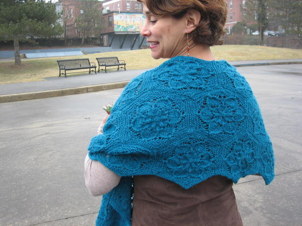 Sempervivum Shawl Pattern